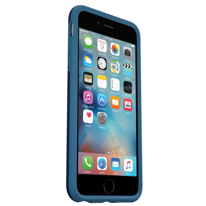 OtterBox SYMMETRY SERIES Case for iPhone 6 / 6S Plus (ONLY) - Blueberry Blue (Certified Refurbished)