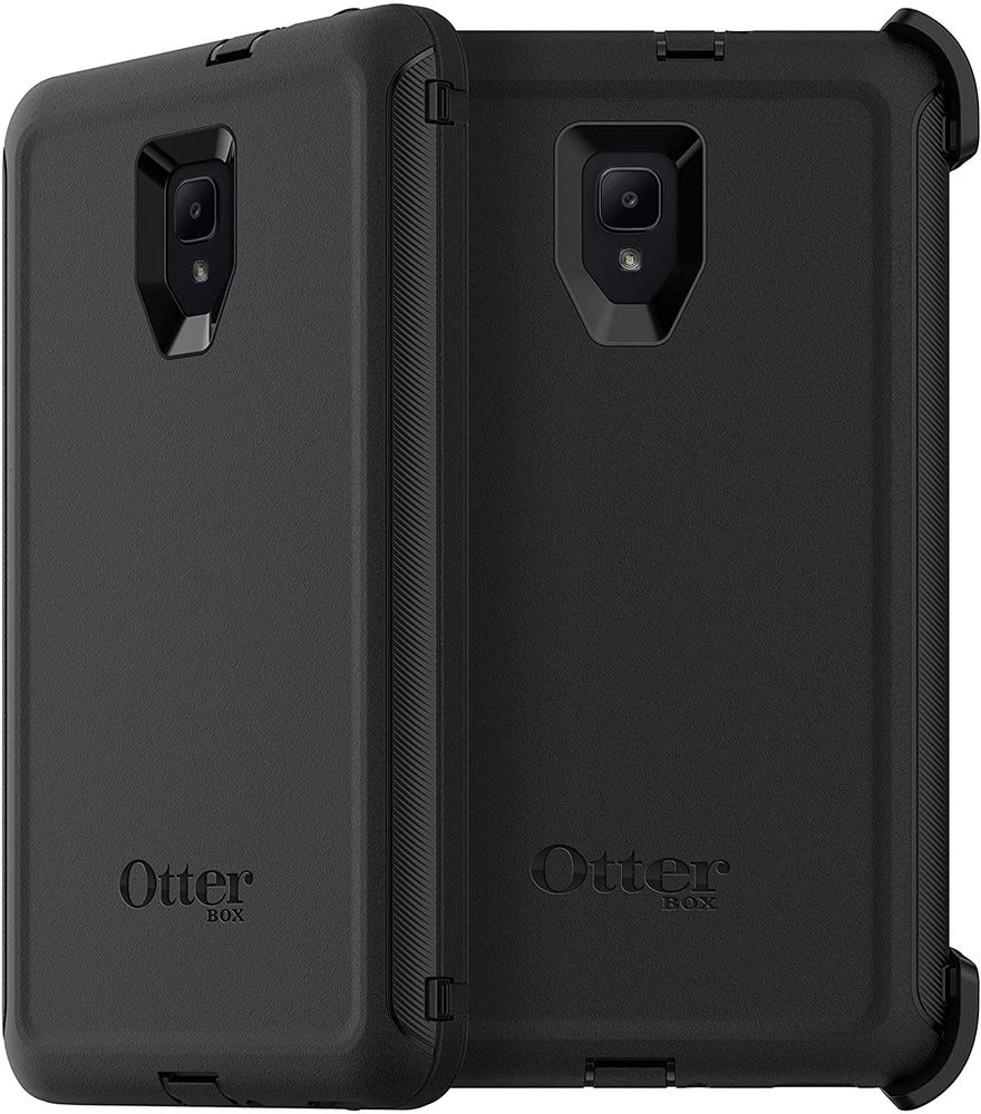 OtterBox DEFENDER SERIES Case & Stand for Galaxy Tab A 8.0 (2017) - Black (Certified Refurbished)