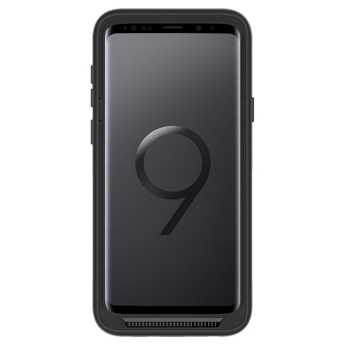 OtterBox PURSUIT SERIES Case for Galaxy S9+ Tough (ONLY) - Black/Clear (Certified Refurbished)
