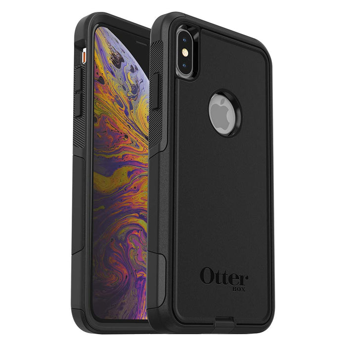 OtterBox COMMUTER SERIES Case for iPhone Xs Max (ONLY) - Black (Certified Refurbished)