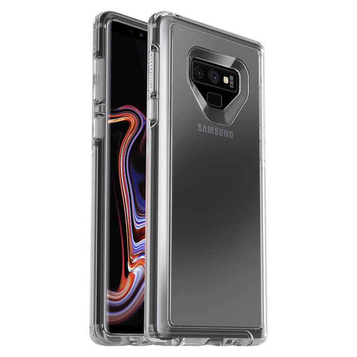 OtterBox SYMMETRY SERIES Case for Galaxy Note9 - Clear (Certified Refurbished)