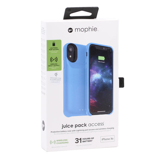 Mophie Juice Pack Access 2000Mah Protective Battery Case for iPhone XR - Blue (Certified Refurbished)