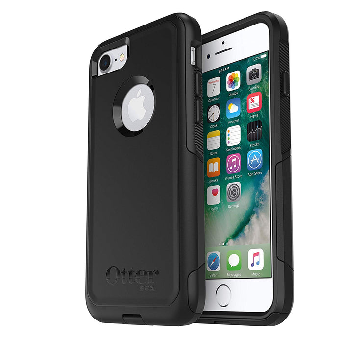 OtterBox COMMUTER SERIES Case for iPhone 7 / 8 (ONLY) - Black (Certified Refurbished)