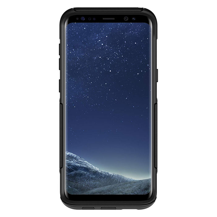 OtterBox COMMUTER SERIES Case for Galaxy S8 Plus (ONLY) - Black (Certified Refurbished)