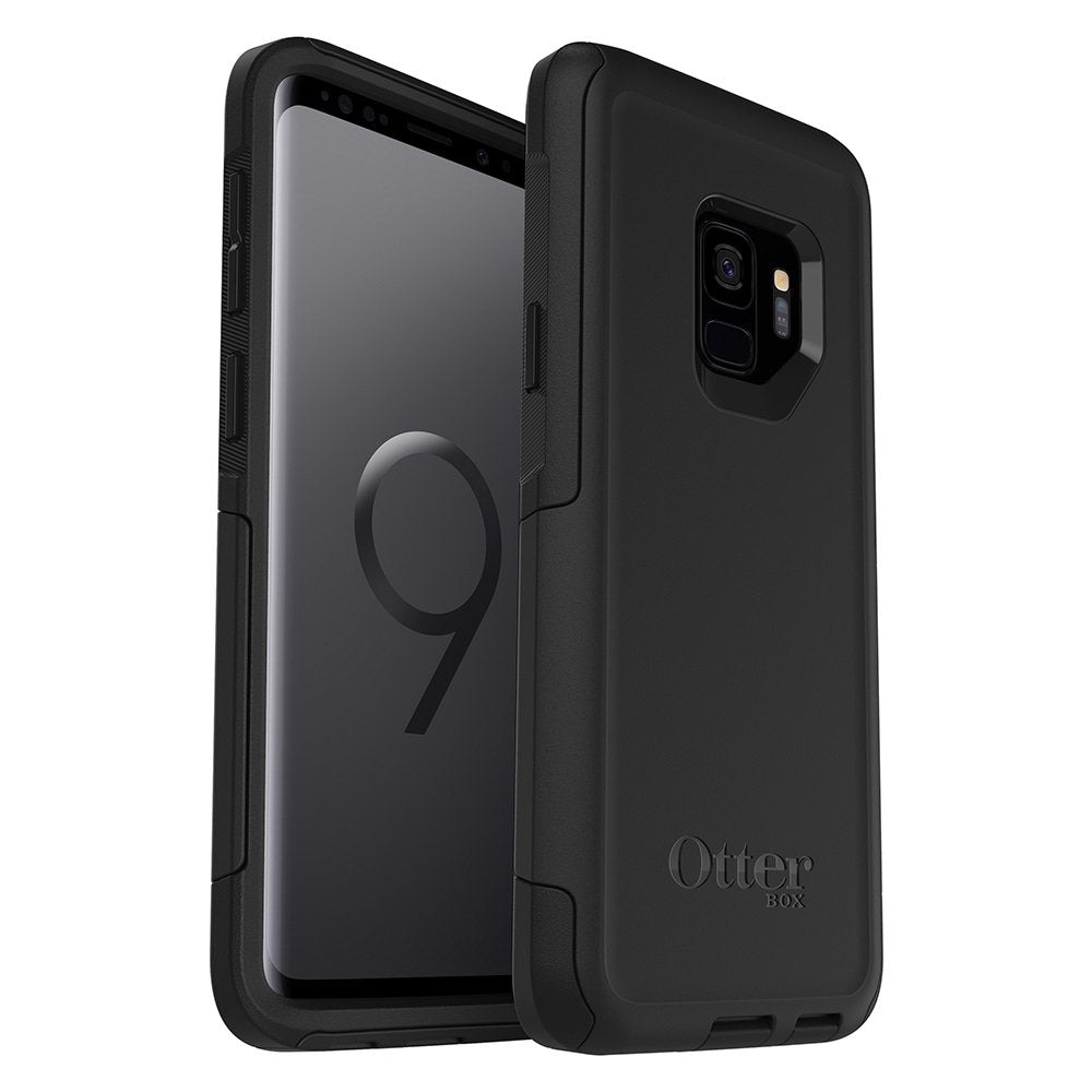 Otterbox COMMUTER SERIES Case for Galaxy S9 (ONLY) - Black (Certified Refurbished)