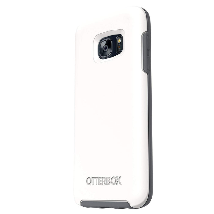 Otterbox SYMMETRY SERIES Case for Galaxy S7(ONLY) – Glacier (Certified Refurbished)
