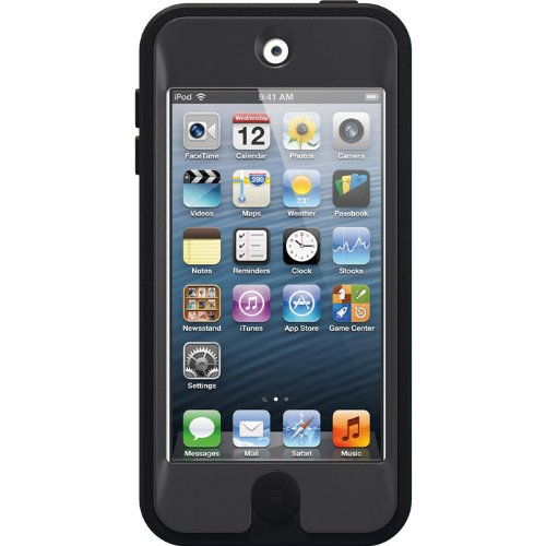 OtterBox DEFENDER SERIES Case for iPod Touch 5th Gen - Black (Certified Refurbished)