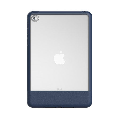 OtterBox Clear & Felt Case Compatible with Apple iPad Mini 4 - Lucent Blue (Certified Refurbished)