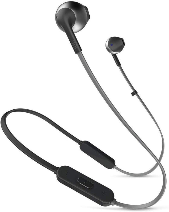 JBL Lifestyle TUNE 205BT In-Ear Bluetooth Earphones with Remote - Black (Certified Refurbished)