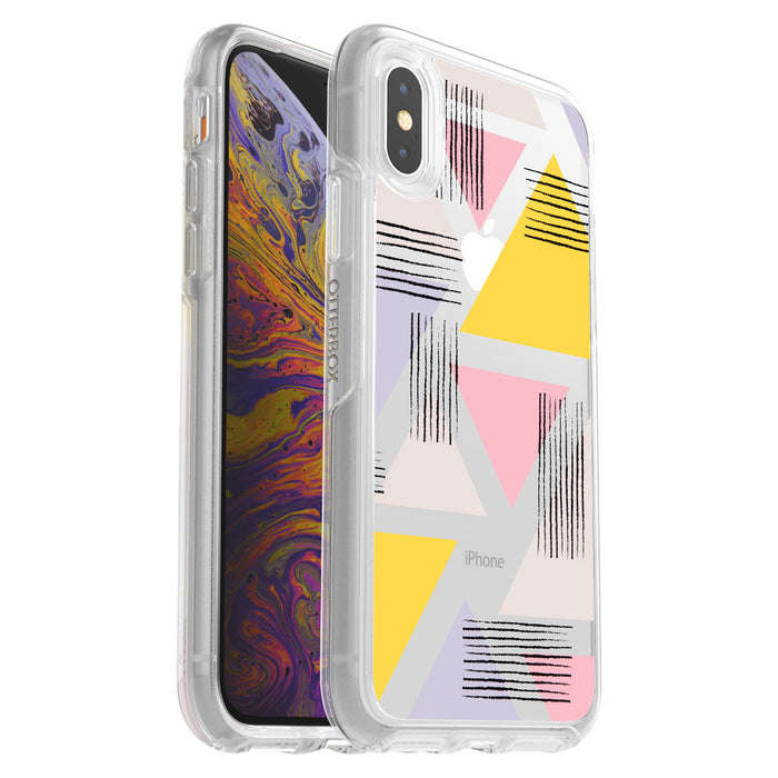 Otterbox SYMMETRY SERIES Case for iPhone X / Xs (ONLY) - Love triangle (Certified Refurbished)