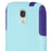 OtterBox COMMUTER SERIES Case for Galaxy S4 (ONLY) - Aqua Blue / Purple (Certified Refurbished)