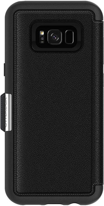 Otterbox STRADA SERIES Folio Case for Galaxy S8 Plus - Onyx (Certified Refurbished)