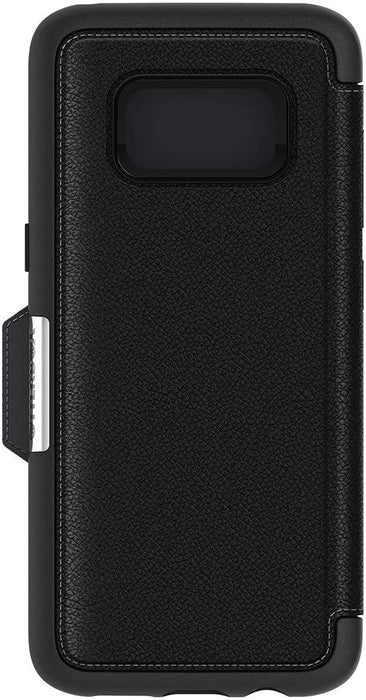 Otterbox STRADA SERIES Folio Case for Galaxy S8 (ONLY) - Onyx (Certified Refurbished)