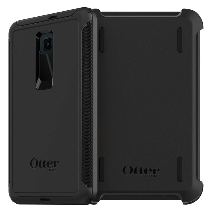 OtterBox DEFENDER SERIES Case & Stand for Galaxy Tab A 8.0 (2018) (ONLY) - Black (Certified Refurbished)