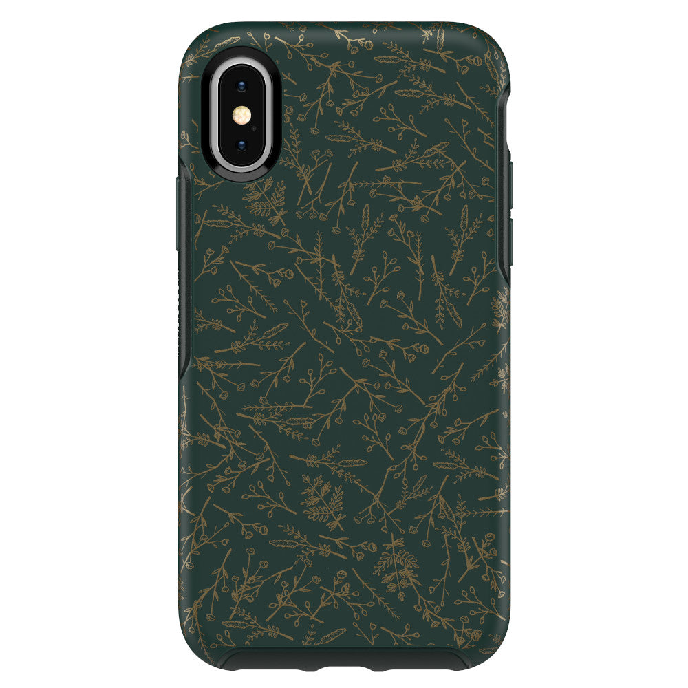 OtterBox SYMMETRY SERIES Case for iPhone X / XS - Play the Field (Certified Refurbished)