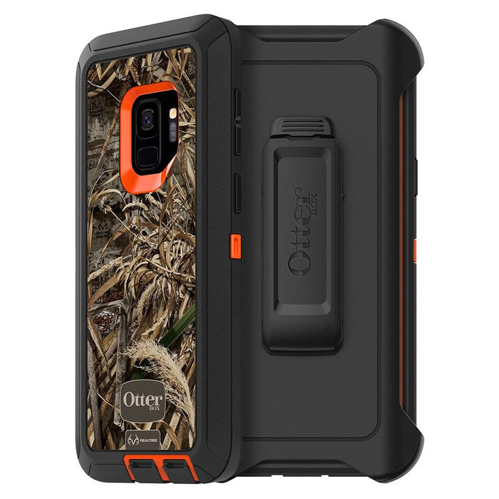 OtterBox DEFENDER SERIES Case & Holster for Galaxy S9 - Max 5 Blaze (Certified Refurbished)