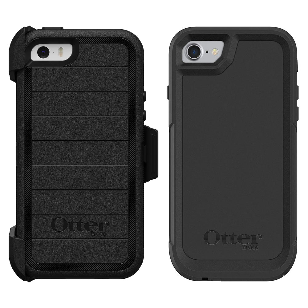 Otterbox Bundle Heavy Duty Case for iPhone 7 / iPhone 8 (ONLY) + Bonus Slim Case (Certified Refurbished)