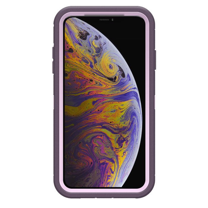 Otterbox Bundle: Heavy Duty Case for Apple iPhone X/XS (ONLY) – Case + Tempered Glass Screen Protector (Certified Refurbished)