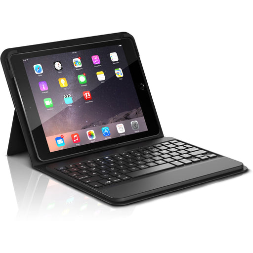 ZAGG Messenger Folio Tablet Keyboard Case for Apple iPad Pro 9.7 - Black (Certified Refurbished)