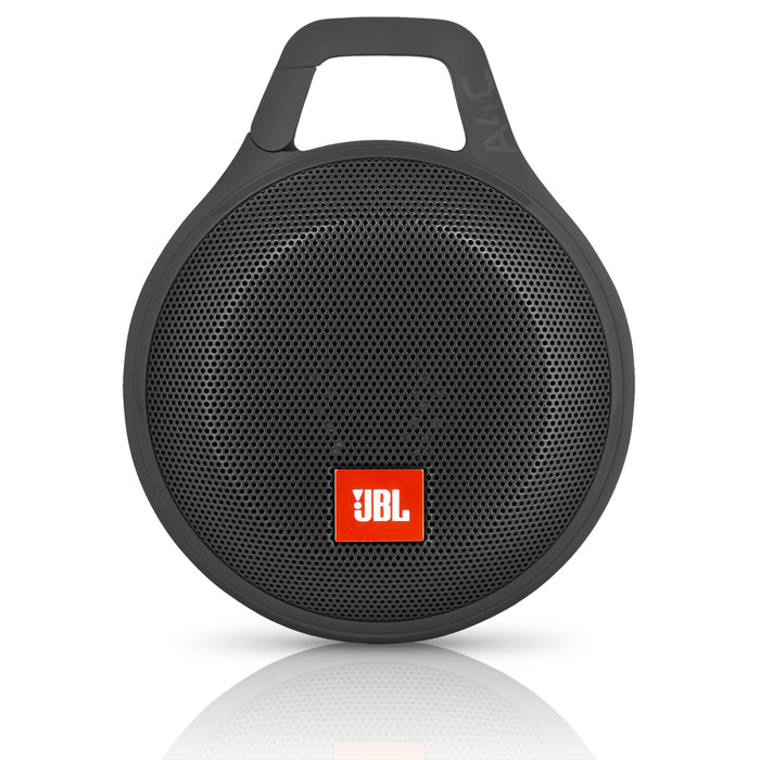 JBL Clip Plus Splashproof Portable Bluetooth Speaker - Black (Certified Refurbished)
