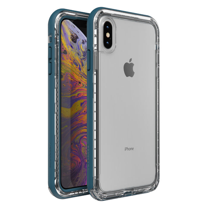 Lifeproof NEXT SERIES Case for iPhone X / XS (ONLY) - Clear Lake (Certified Refurbished)