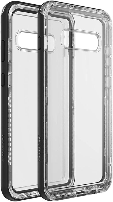 LifeProof NEXT SERIES Case for Galaxy S10 Plus (ONLY) - Black Crystal (Certified Refurbished)