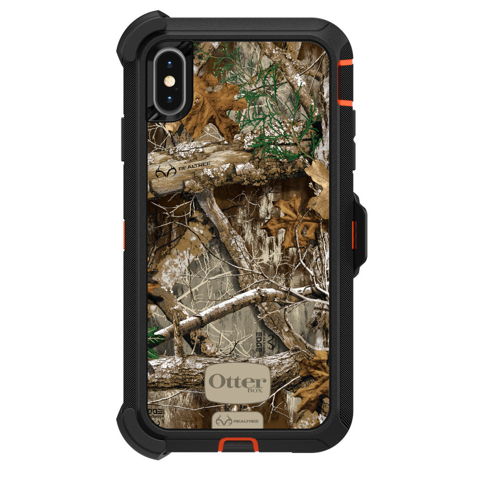 Otterbox DEFENDER SERIES Case & Holster for iPhone XS Max - Realtree Edge (Certified Refurbished)