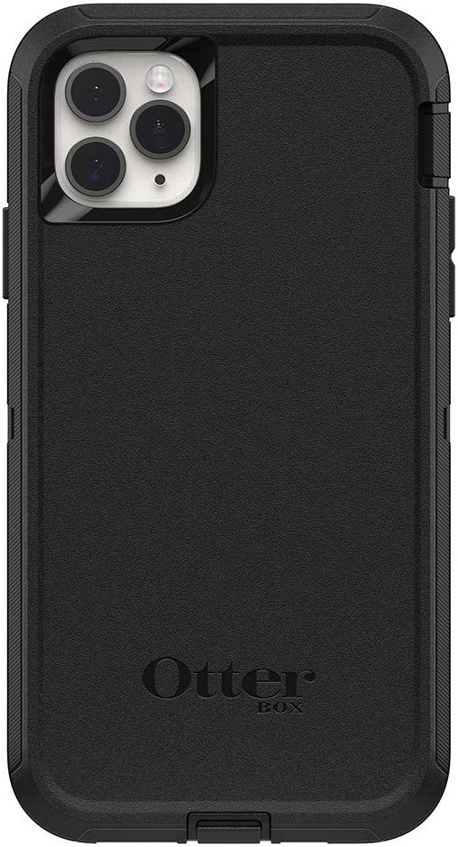 OtterBox DEFENDER SERIES Case for iPhone 11 Pro Max - Black (Certified Refurbished)