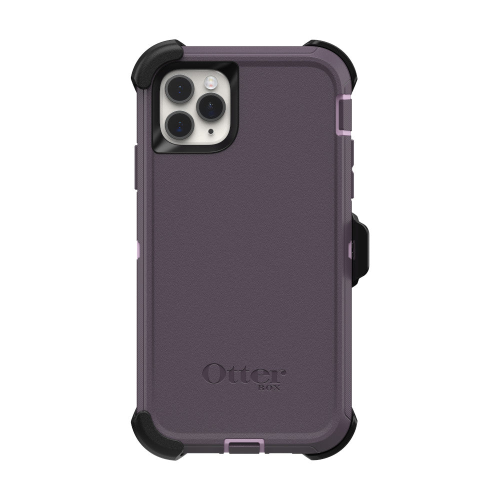 OtterBox DEFENDER SERIES Case & Holster for iPhone 11 Pro - Purple Nebula (Certified Refurbished)
