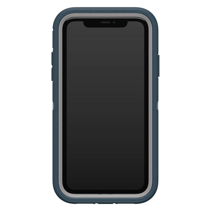 OtterBox DEFENDER SERIES Case & Holster for iPhone 11 - Gone Fishing Blue (Certified Refurbished)