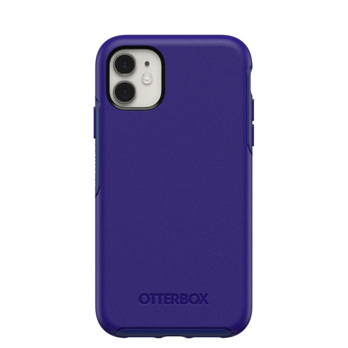 OtterBox SYMMETRY SERIES Case for iPhone 11 - Sapphire Secret Blue (Certified Refurbished)
