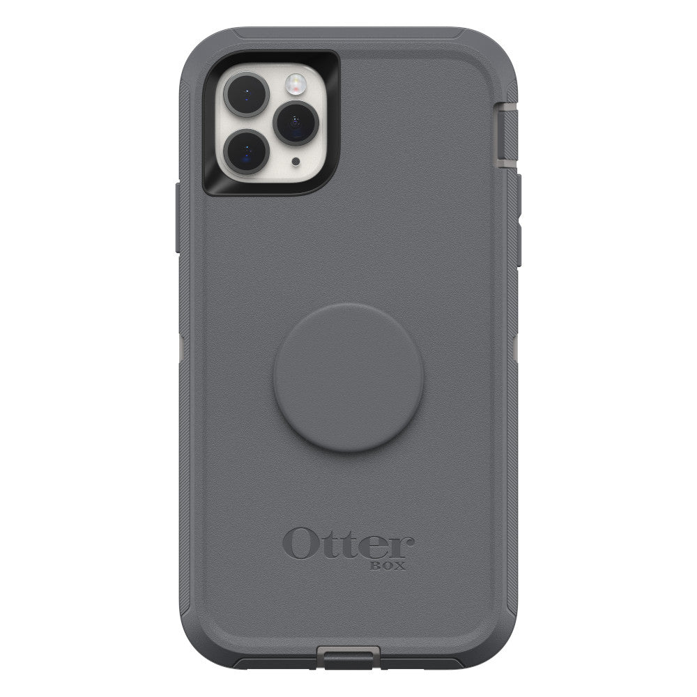 OtterBox + Pop DEFENDER SERIES Case for iPhone 11 Pro Max - Howler Grey (Certified Refurbished)
