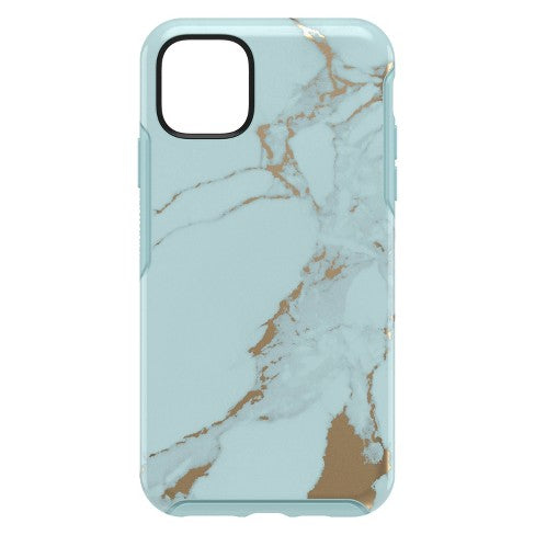 OtterBox SYMMETRY SERIES Case for iPhone 11 (ONLY) - Teal Marble (Certified Refurbished)