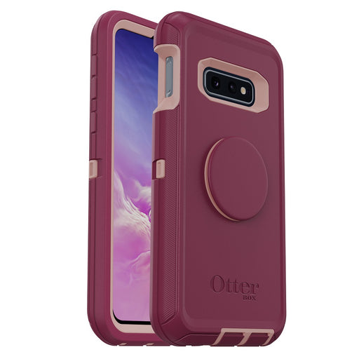 OtterBox + POP DEFENDER SERIES Case & Holster for Galaxy S10e - Fall Blossom (Certified Refurbished)