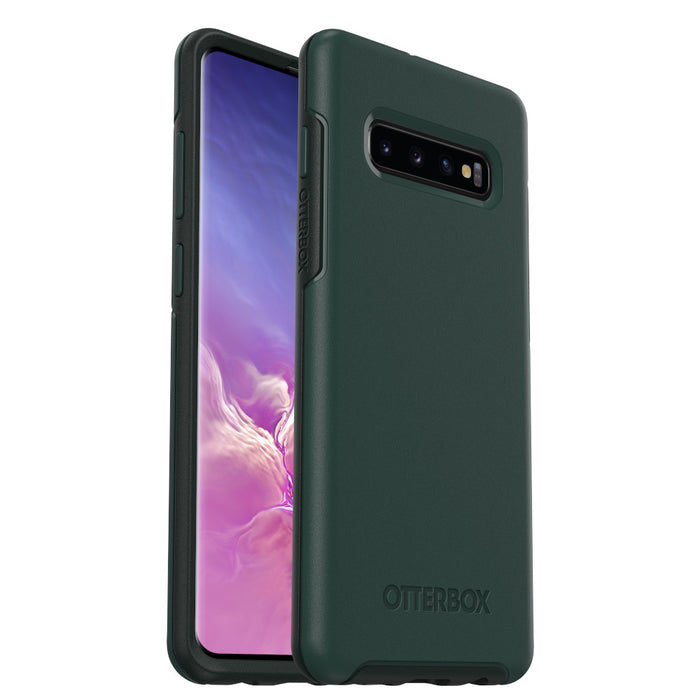 OtterBox SYMMETRY SERIES Case for Galaxy S10+ Plus - Ivy Meadow Green (Certified Refurbished)