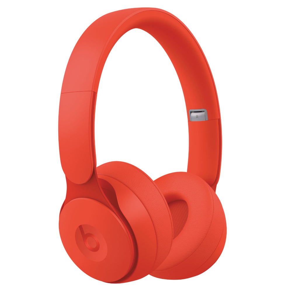 Beats Solo Pro Wireless Noise Cancelling On-Ear Headphones - Red (Certified Refurbished)