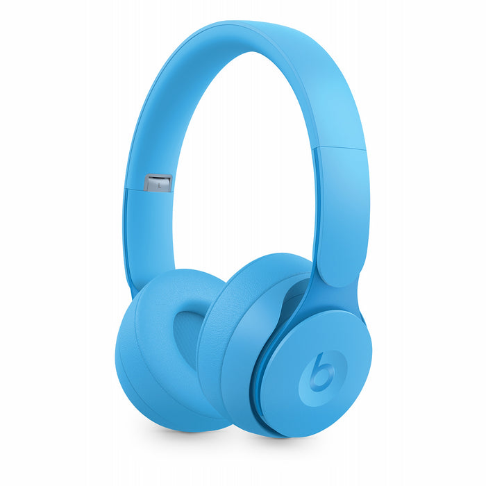 Beats Solo Pro Wireless Noise Cancelling On-Ear Headphones - Light Blue (Refurbished)