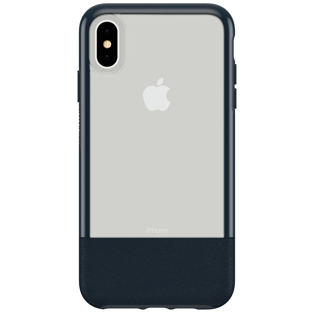 OtterBox Clear & Leather Case for iPhone Xs Max - LUCENT JADE (Certified Refurbished)