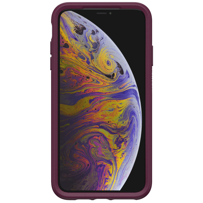 OtterBox Clear & Felt Case for iPhone Xs Max - Lucent Magenta (Certified Refurbished)