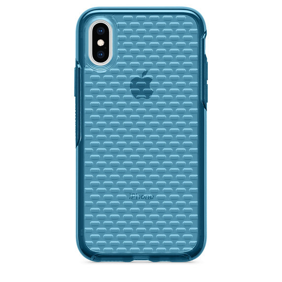 OtterBox Clear Pattern Design Case for iPhone X / iPhone Xs - Storm River (Certified Refurbished)