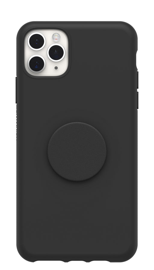 OtterBox + POP Ultra Slim Soft Touch Case for Apple iPhone 11 Pro Max - Black (Certified Refurbished)