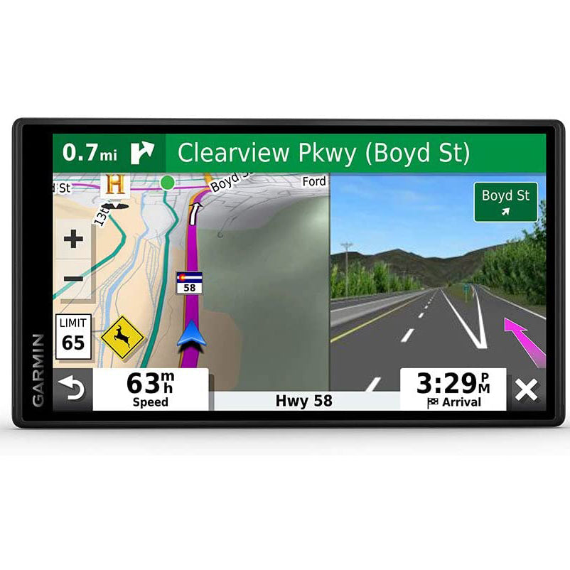 "Garmin DriveSmart 55 & Traffic - 5.5"" GPS with Built-In Bluetooth - Black (Certified Refurbished)"