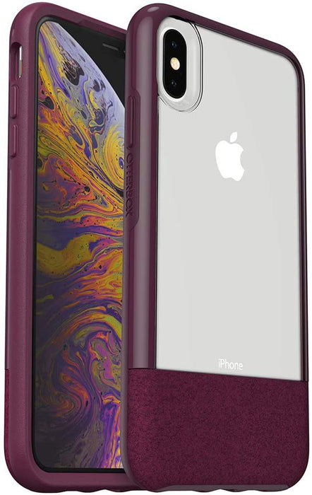 OtterBox STATEMENT SERIES Case for iPhone X / iPhone Xs - Lucent Magenta (Certified Refurbished)