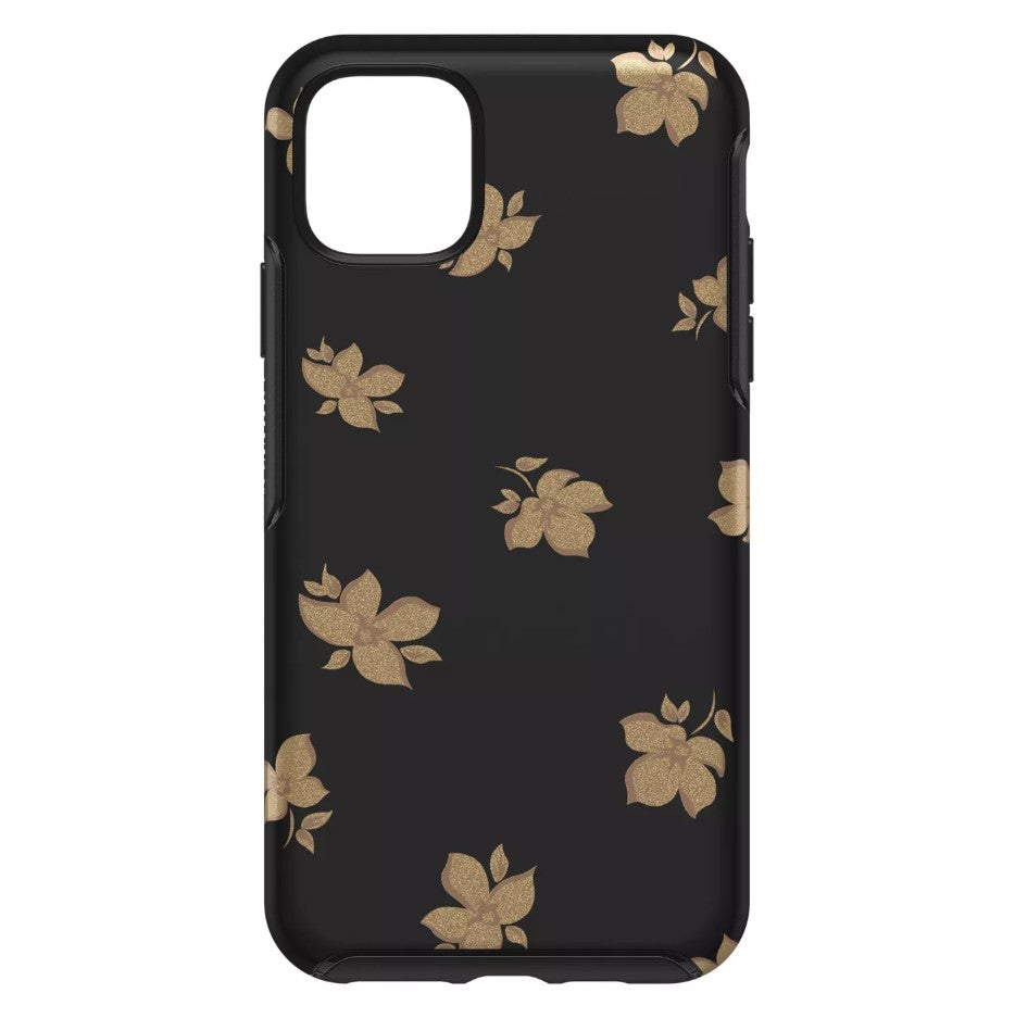 OtterBox SYMMETRY SERIES Case for iPhone 11 Pro - Gold Flowers (Certified Refurbished)