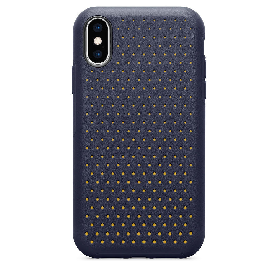OtterBox STATEMENT SERIES MODERN Case for iPhone X and iPhone Xs -Midnight Polka (Certified Refurbished)