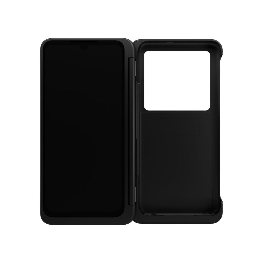 LG - Dual Screen Case for LG G8x ThinQ - Black (Pre-Owned)