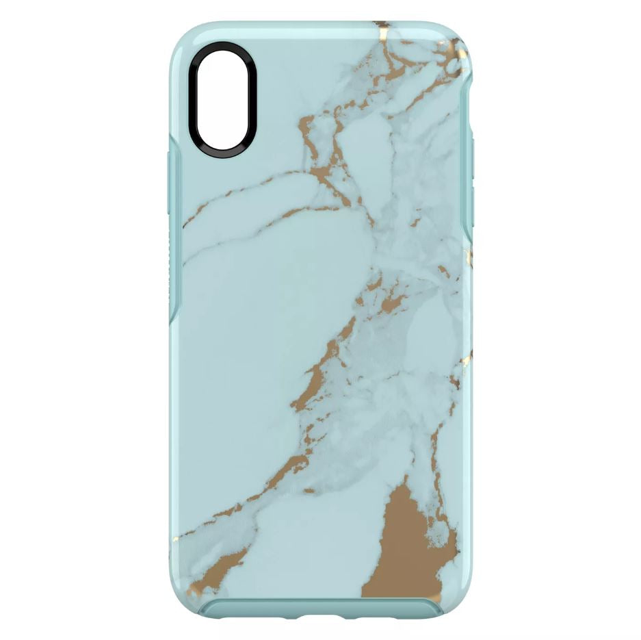 OtterBox SYMMETRY SERIES Case for iPhone XS Max - Teal Marble (Certified Refurbished)