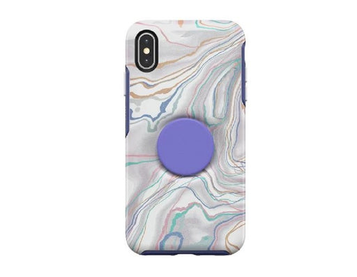 OtterBox + Pop SYMMETRY SERIES Case for iPhone X / iPhone XS - What a Gem (Certified Refurbished)