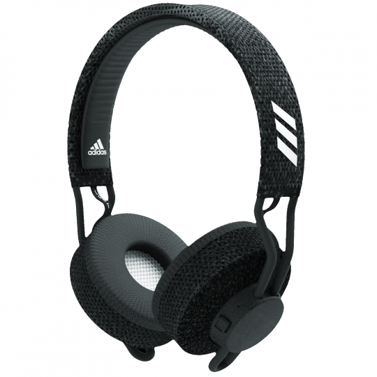Adidas RPT-01 Bluetooth Wireless On-Ear Headphones with Mic - Dark Gray (Certified Refurbished)