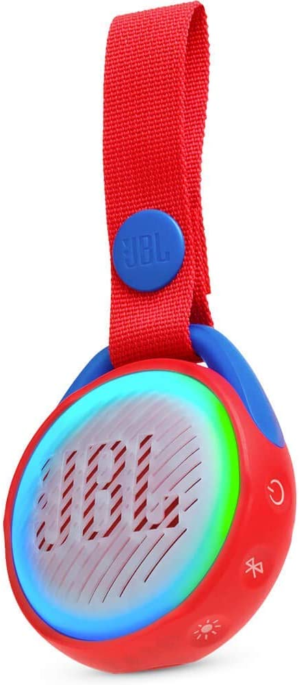 JBL JR POP Wireless Portable Bluetooth Speaker - Red (Certified Refurbished)